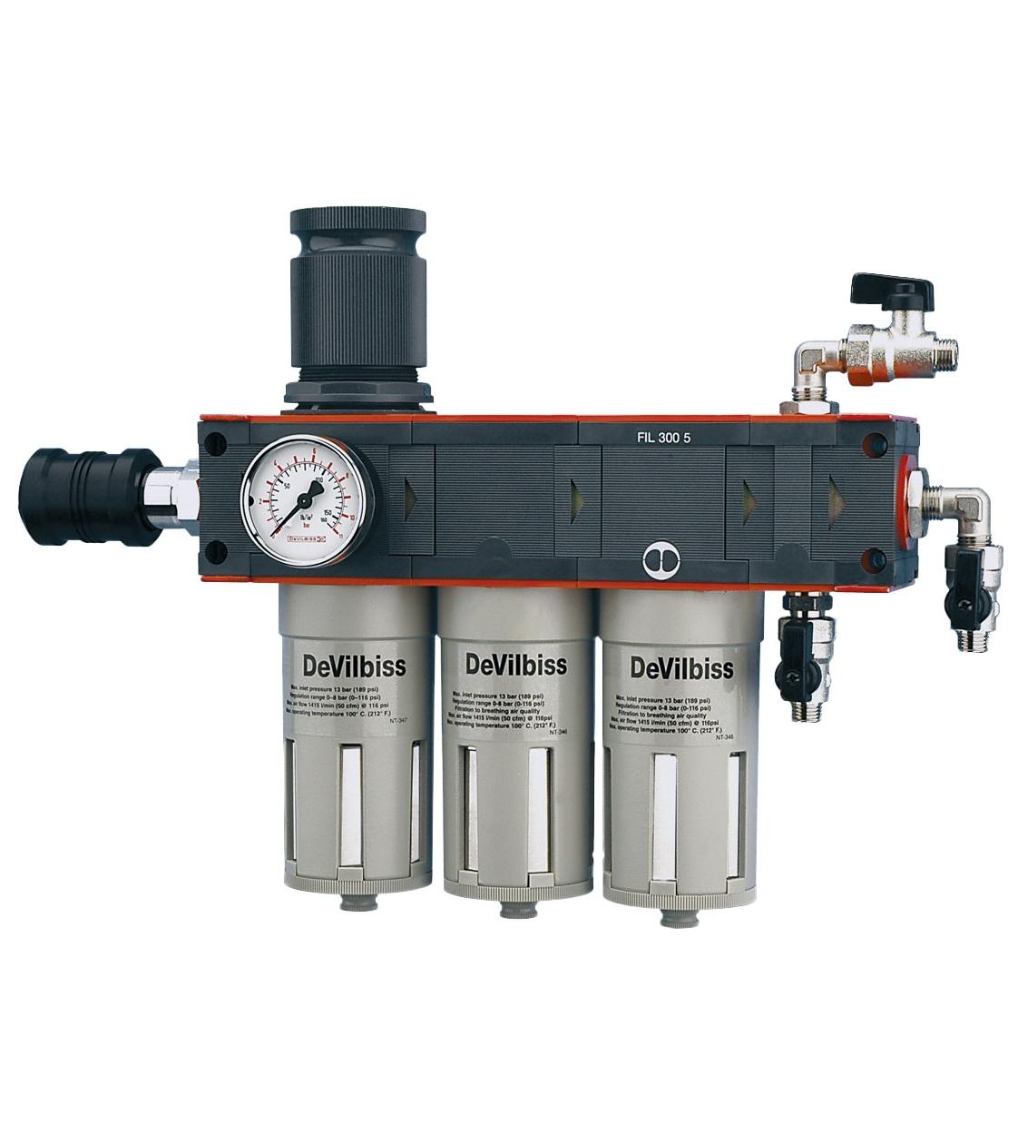 Фильтр - влагомаслоотделитель трехступенчатый DVFR-8